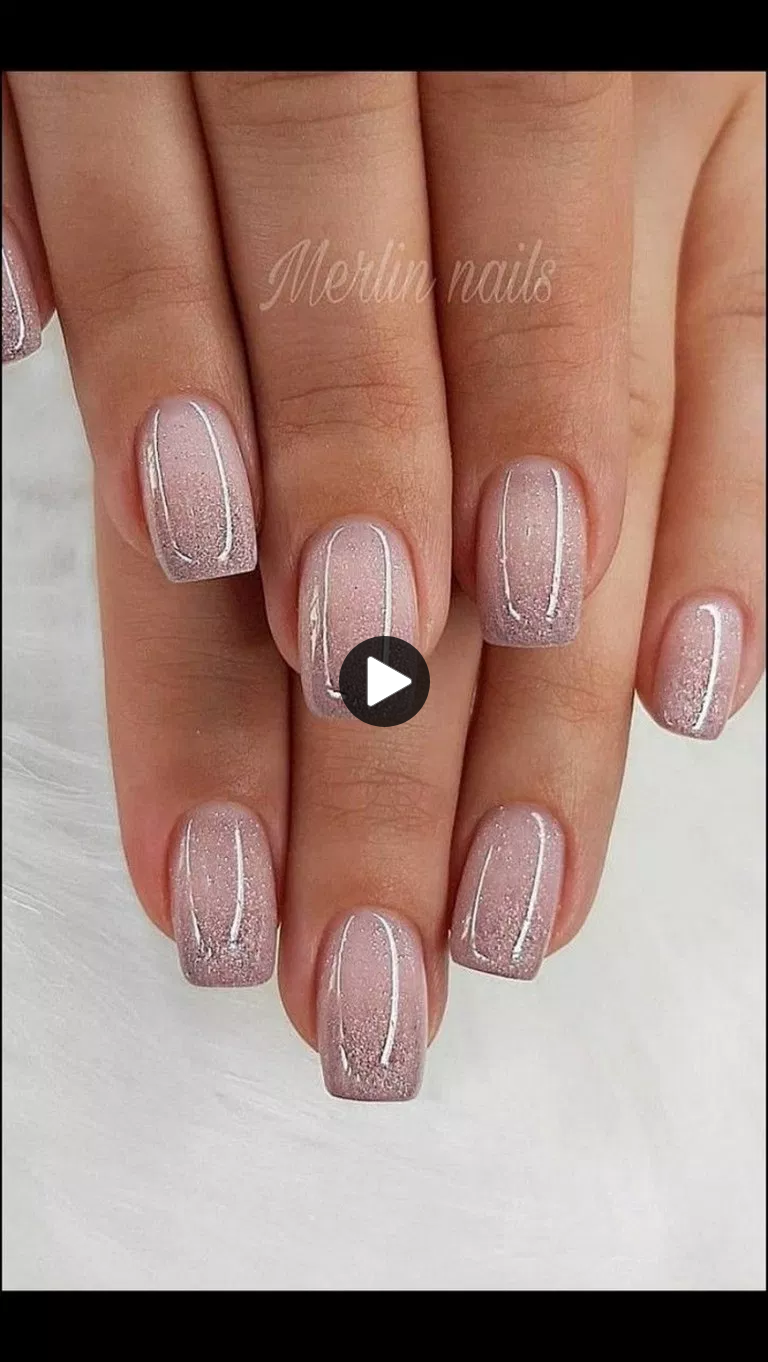 √56 Glitter Gel Nagelontwerpen voor korte nagels voor de lente van 2019 #naildesign #nail … – Welcome to Blog