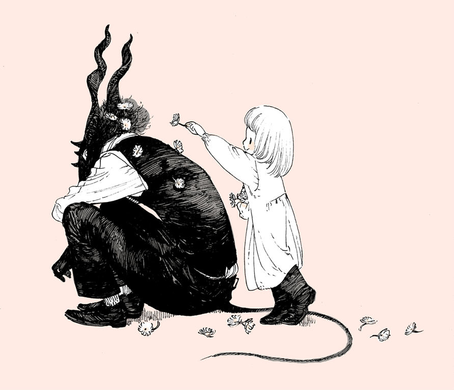 The Girl From The Other Side By Nagabe Sympatheticmonsters Cute Art Illustration Art Art Inspiration