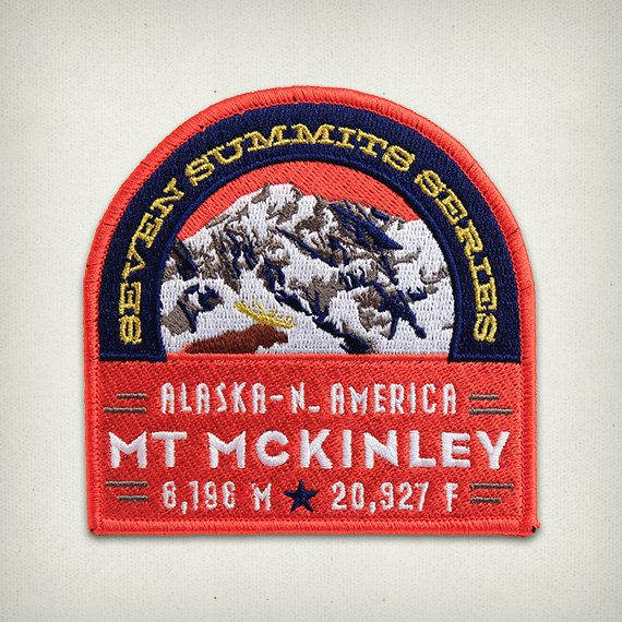 Hey, I found this really awesome Etsy listing at https://www.etsy.com/listing/110240286/mt-mckinley-seven-summits-series-patch