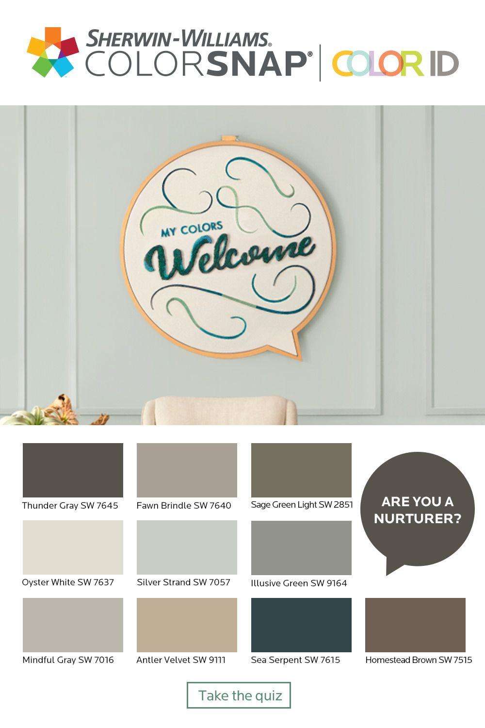 What S Your Color Id Take The Quiz To Find A Color Palette That Matches Your Interior Paint Colors For Living Room Interior Paint Colors Paint Colors For Home