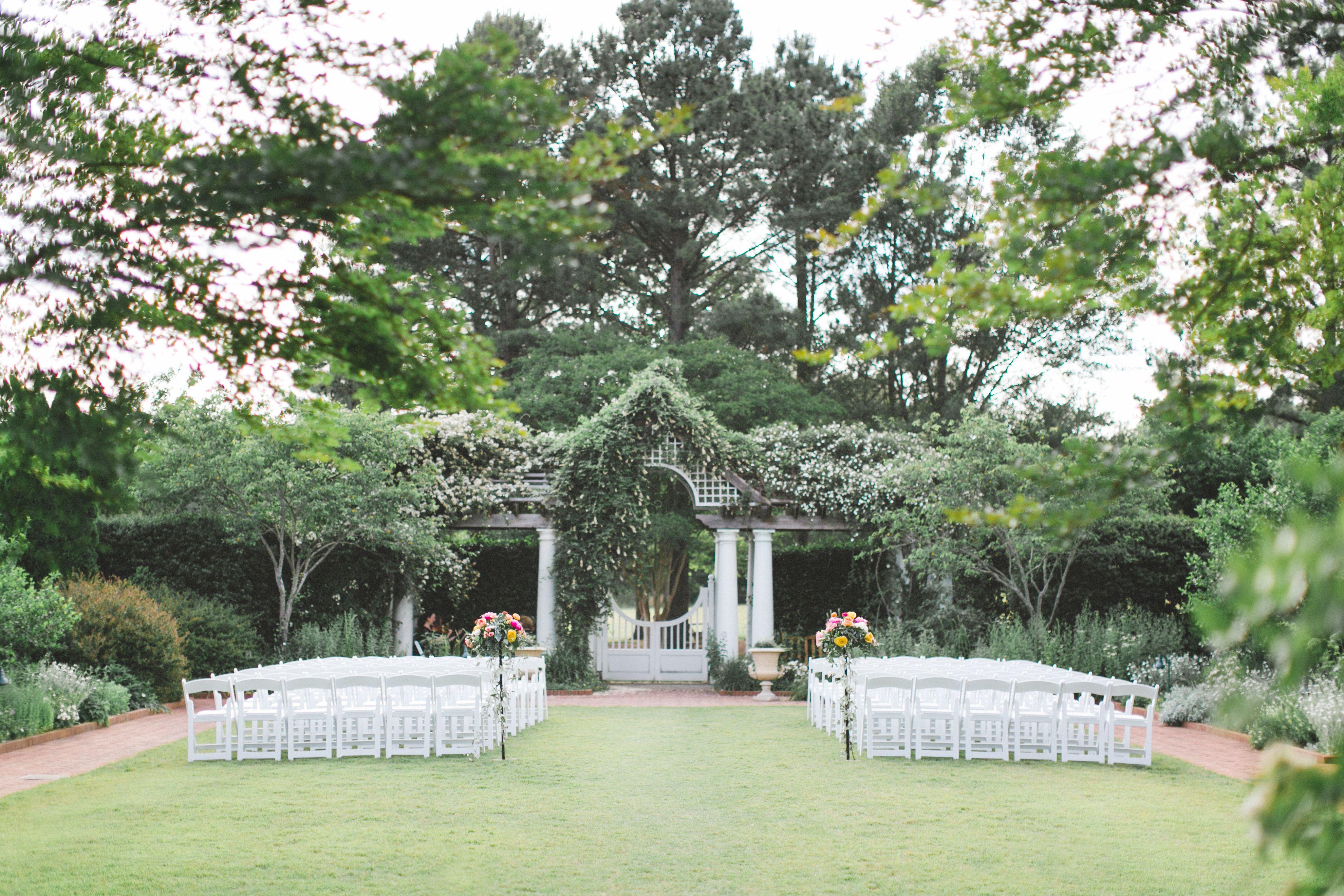 Daniel Stowe Botanical Gardens Wedding Ceremony