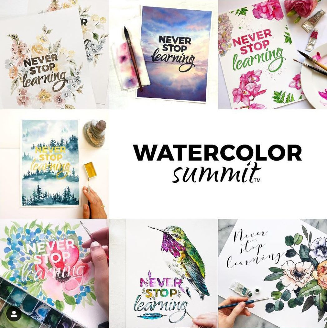 The Best Online Watercolor Classes Out There Learn Watercolor