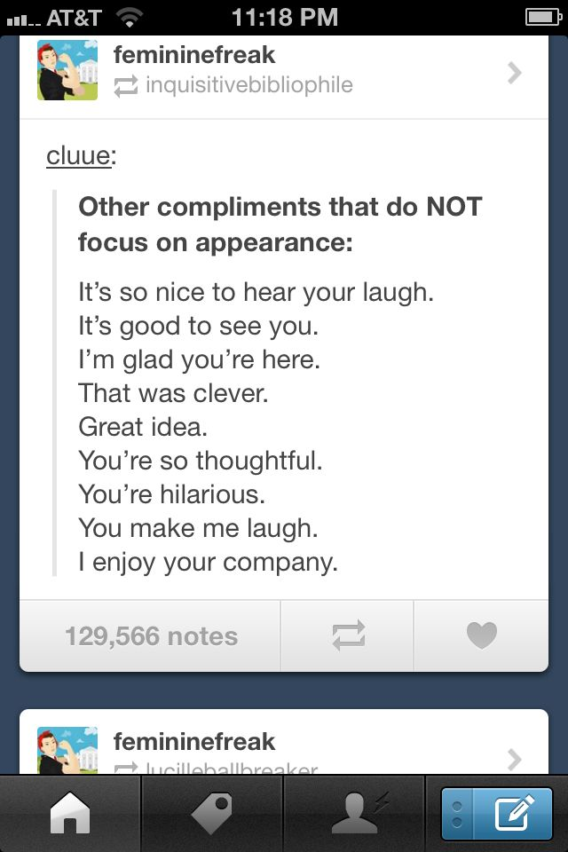 compliments for girls looks