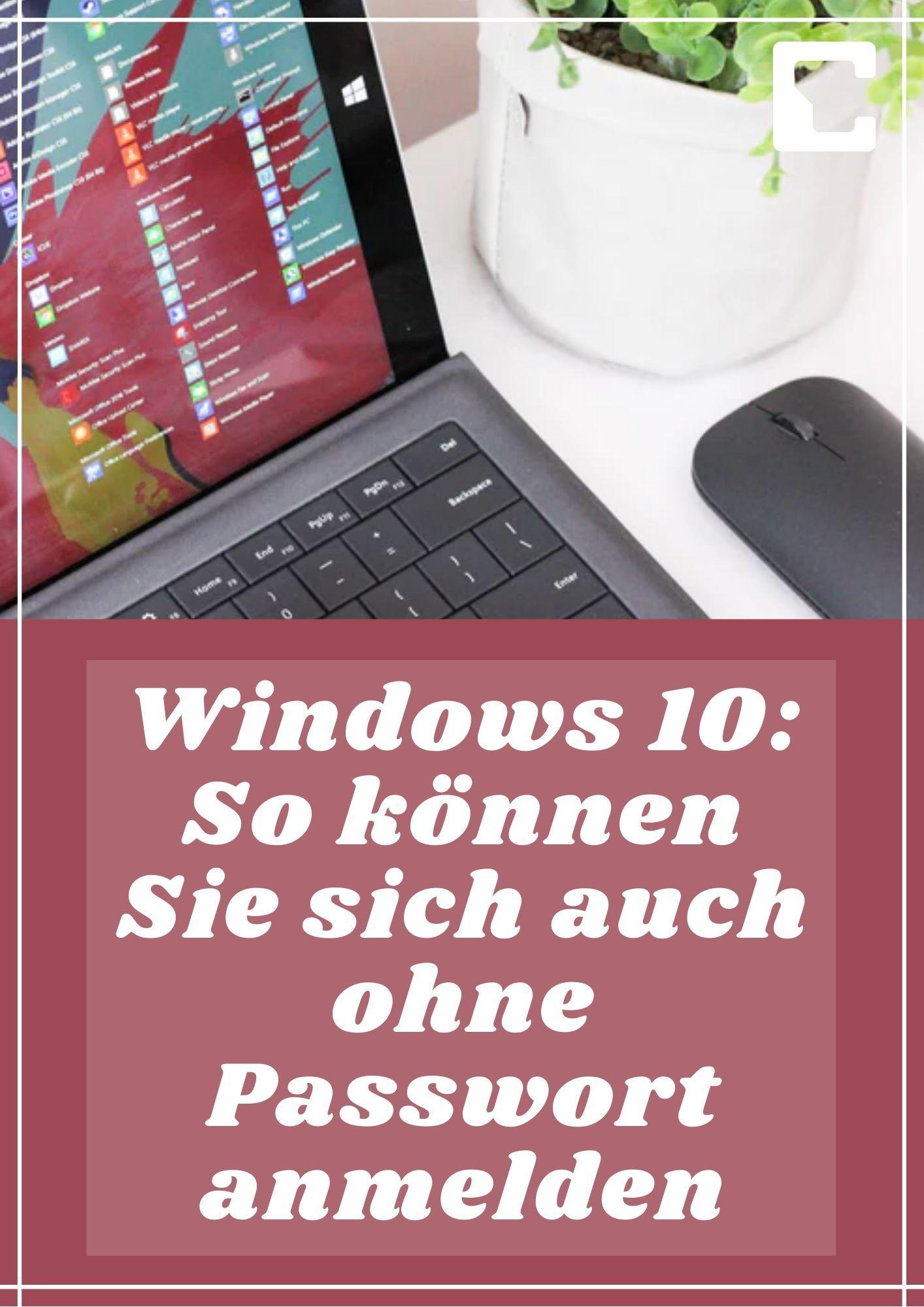 Windows 10 Passwort Umgehen Ohne Kennwort Anmelden In 2020 Tipps Und Tricks Wort Computer