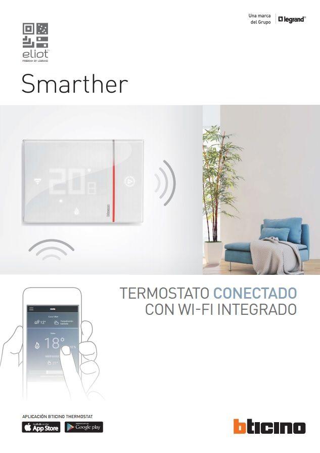 Catálogo Smarther: Termostato Con WI FI