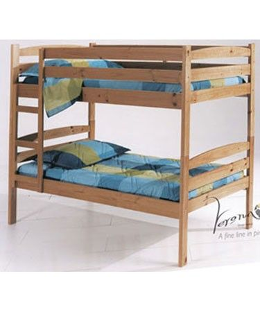 Verona Designs Junior Shelly Shorty Pine Bunk Bed A Simple And