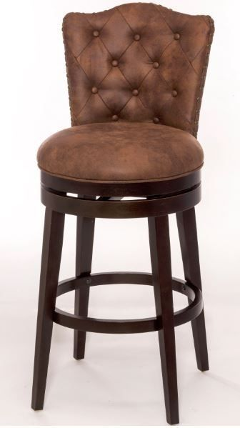 Bar Height Stool Swivel Leather Wood High Chair Kitchen Dining Furniture Luxury Bar Stools Wood High Chairs Swivel Counter Stools