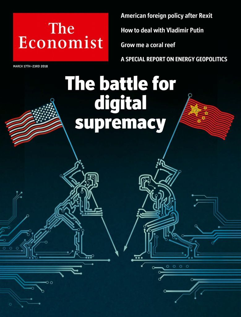 The Economist Back Issue 03/17/2018 (Digital) in 2020 ...