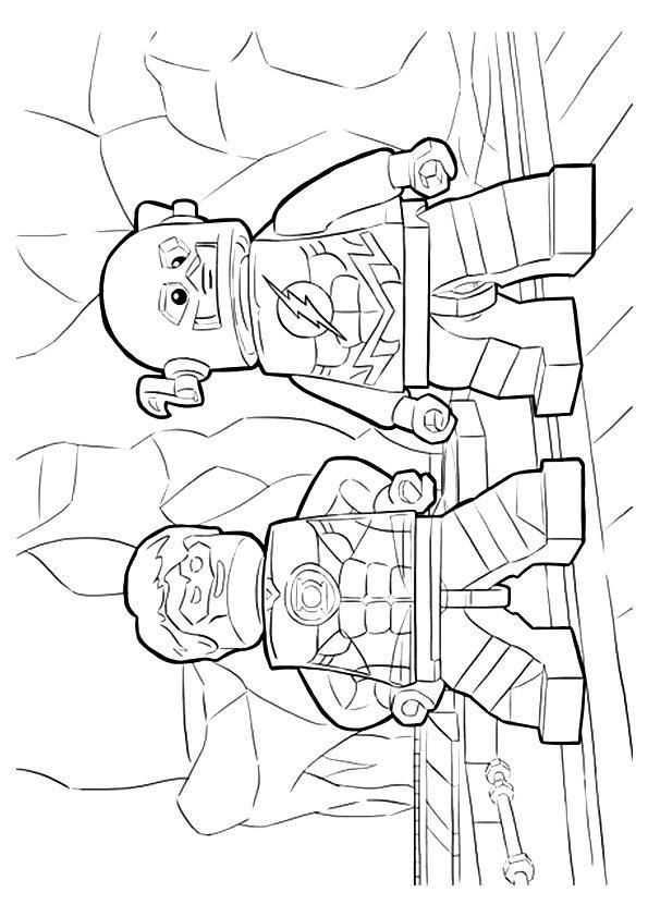 Green Lantern Coloring Pages Lego | Coloring pages, Marvel ...
