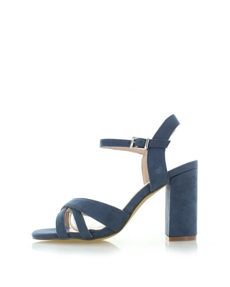 a932f3290089 Tmavomodré sandále Ariadne