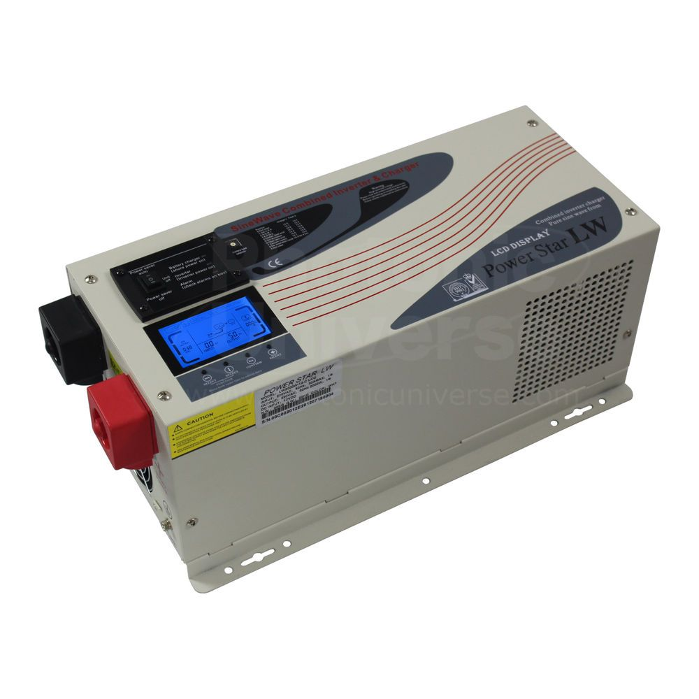 3000W 12V low frequency offgrid inverter battery charger
