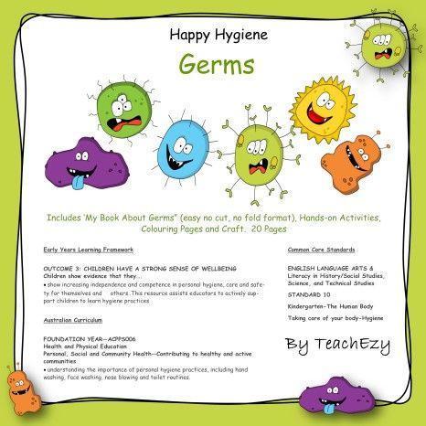 germs coverhappy hygiene eylf outcome 32 children take