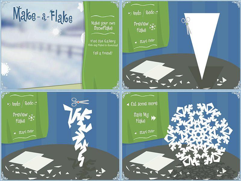 Creare i fiocchi di neve - DidatticarteBlog