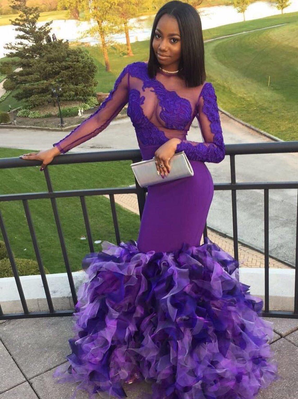Purple Rain @Dadollhouse | Outfit | Pinterest | Trajes para prom ...