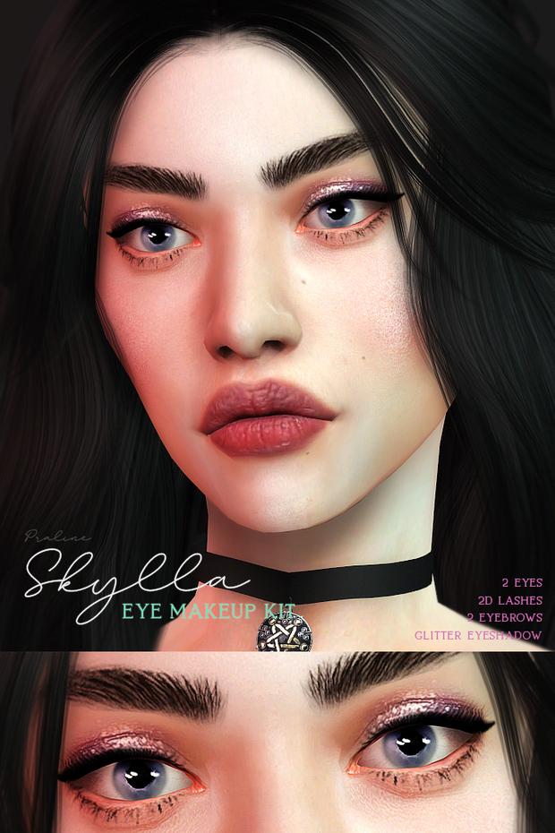SKYLLA Eye Makeup Kit в 2020 г