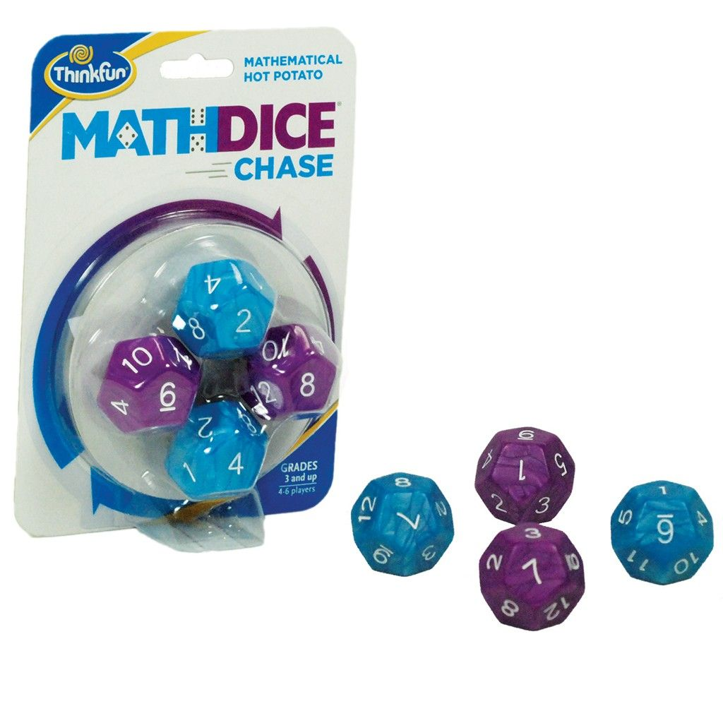 Maths dice chase by coiledspring games brain teasers