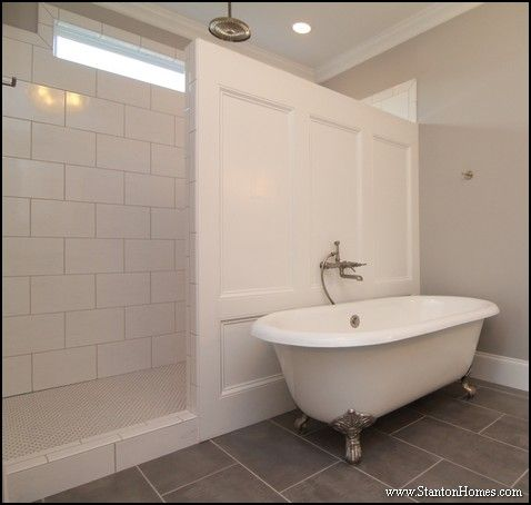 Master Bathroom No Door walk in shower | no door shower | bathroom | pinterest | doors