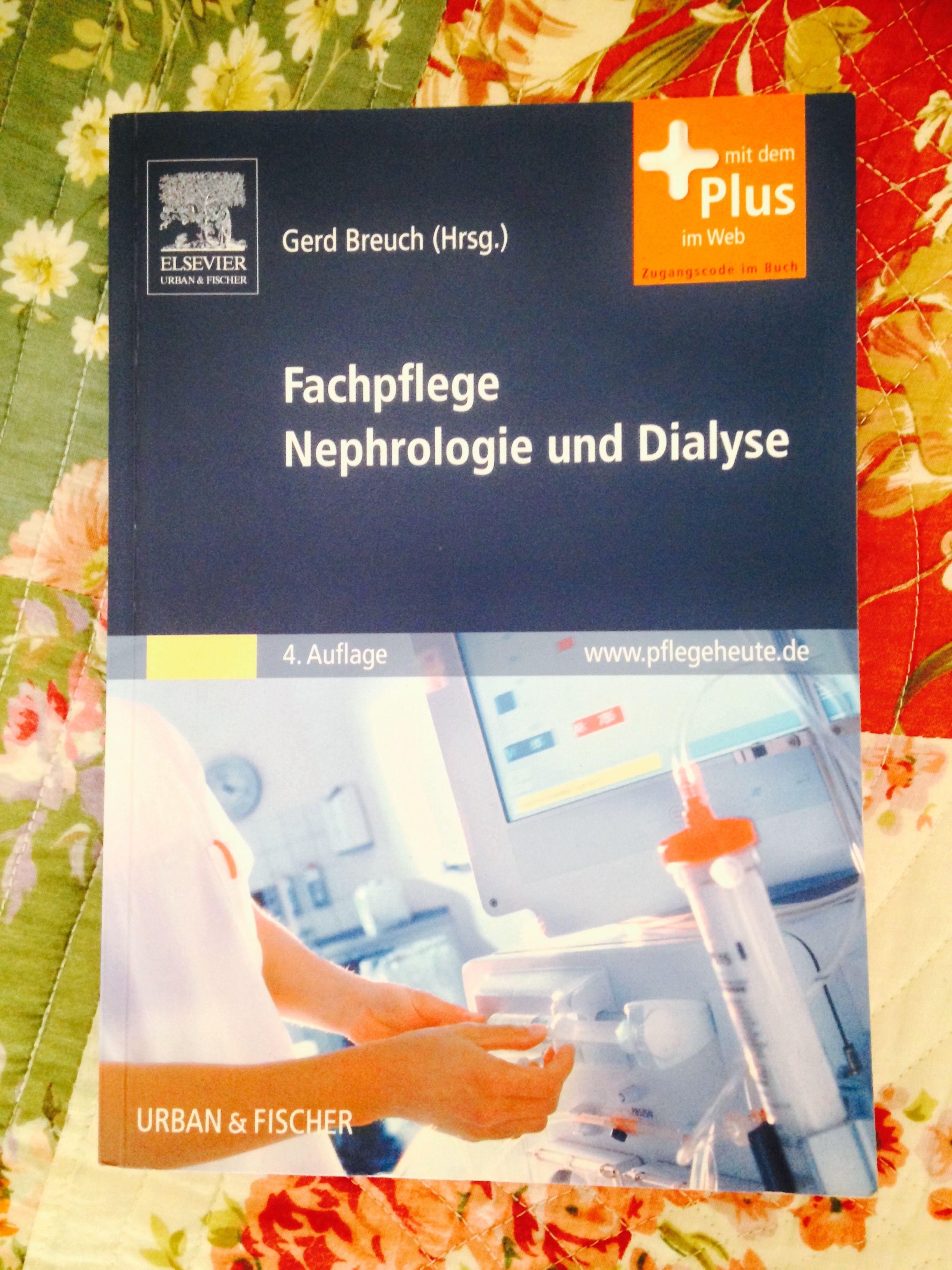 Fachpflege Nephrologie und Dialyse. In meinem Bücherregal.  #diaylse