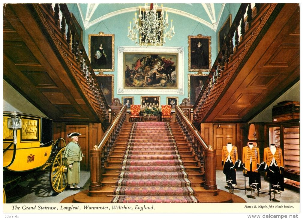 Longleat House, Wiltshire - Grand Staircase