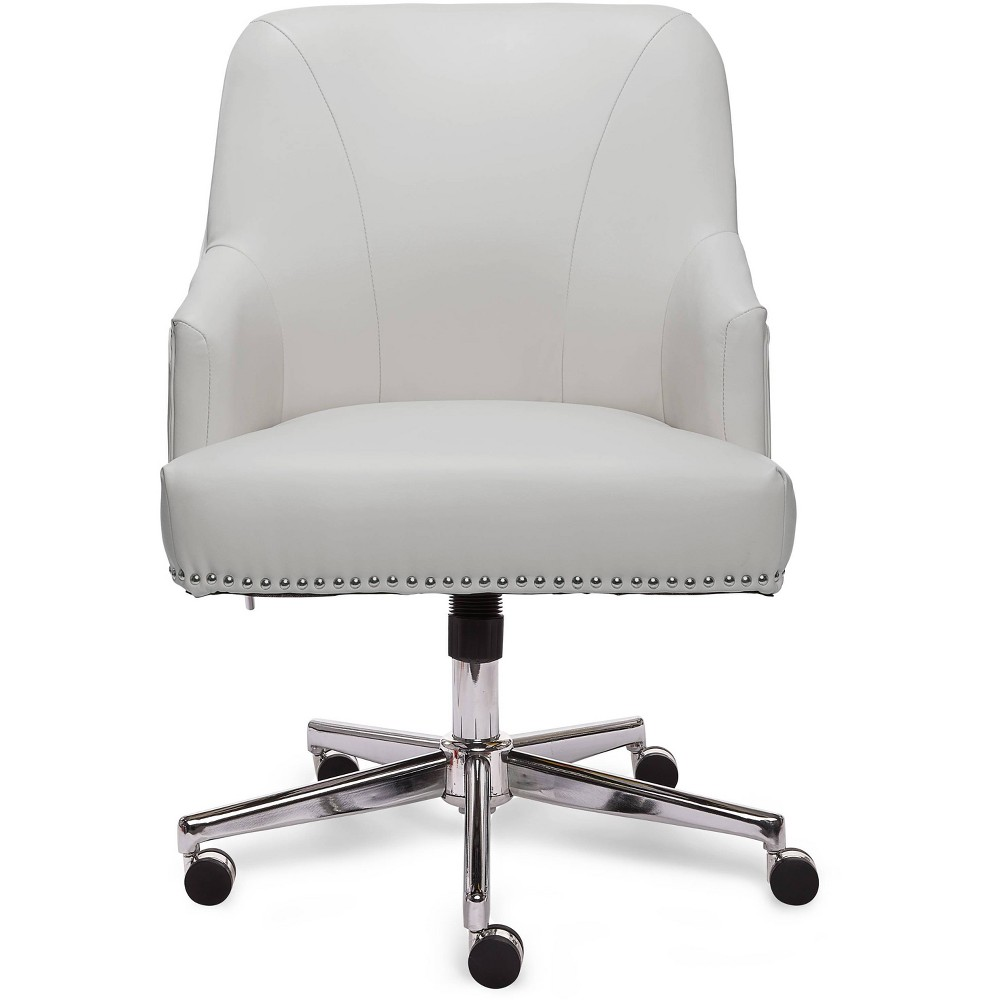Style Leighton Home Office Chair Clean White Serta Home Office Chairs White Office Chair Office Chair