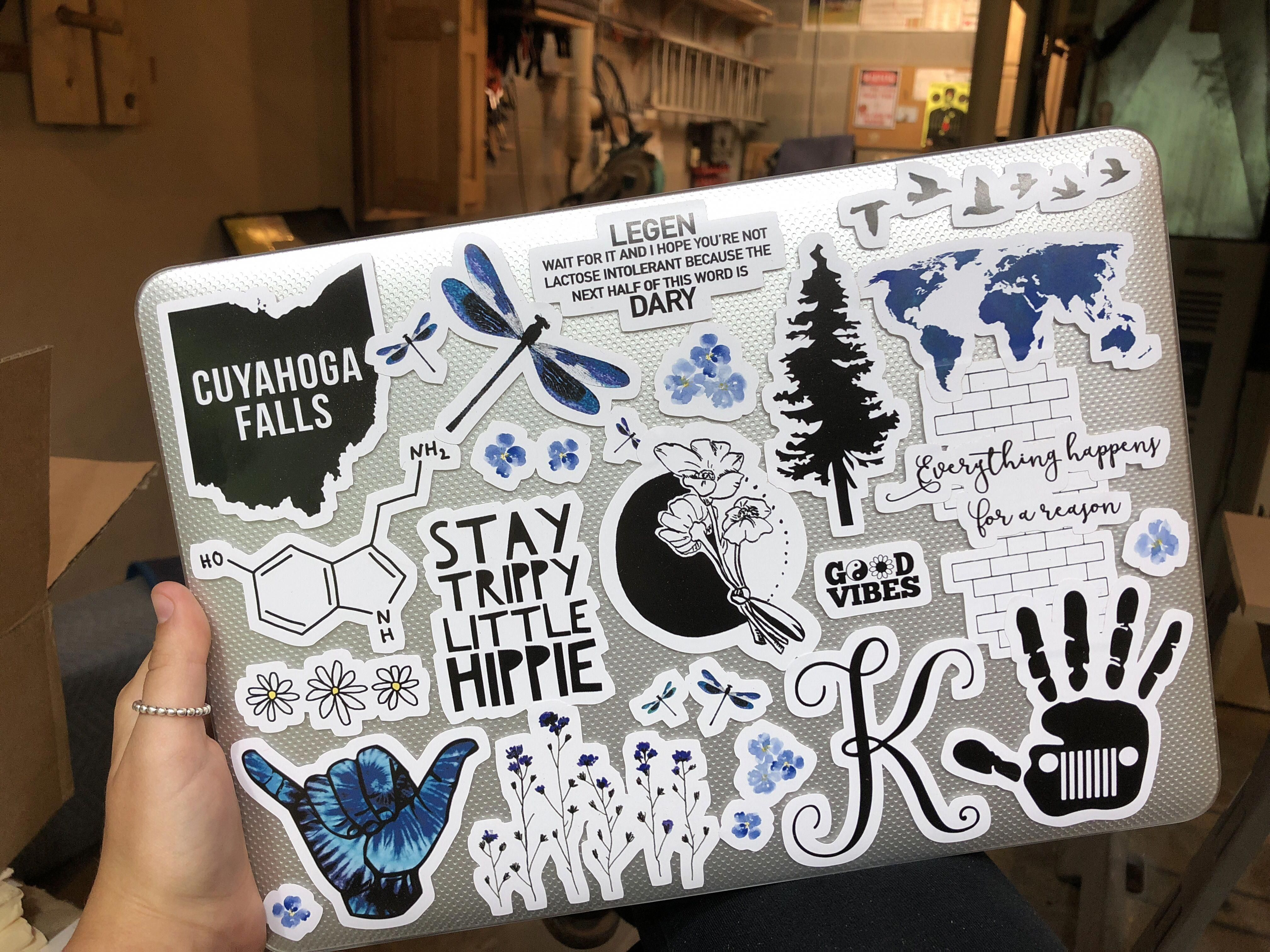 College Laptop Stickers From Redbubble Laptopsdiy Apple Laptop