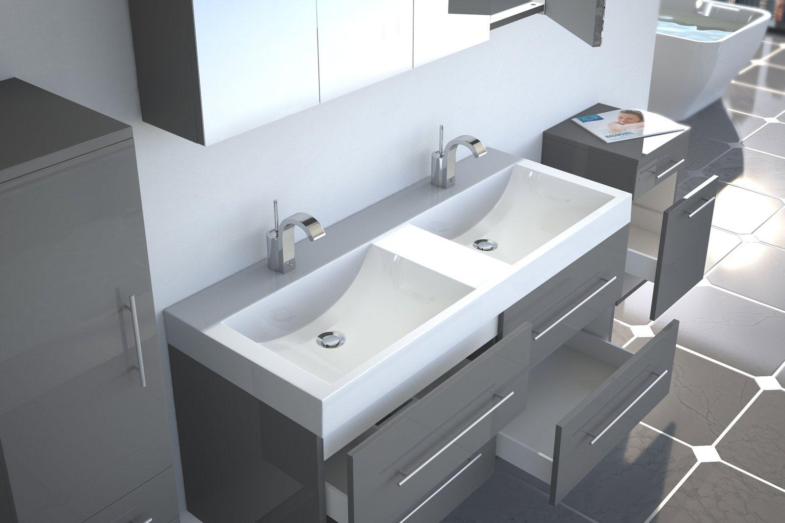 Tolle Doppelwaschbecken Doppelwaschbecken Waschbecken Badezimmerideen