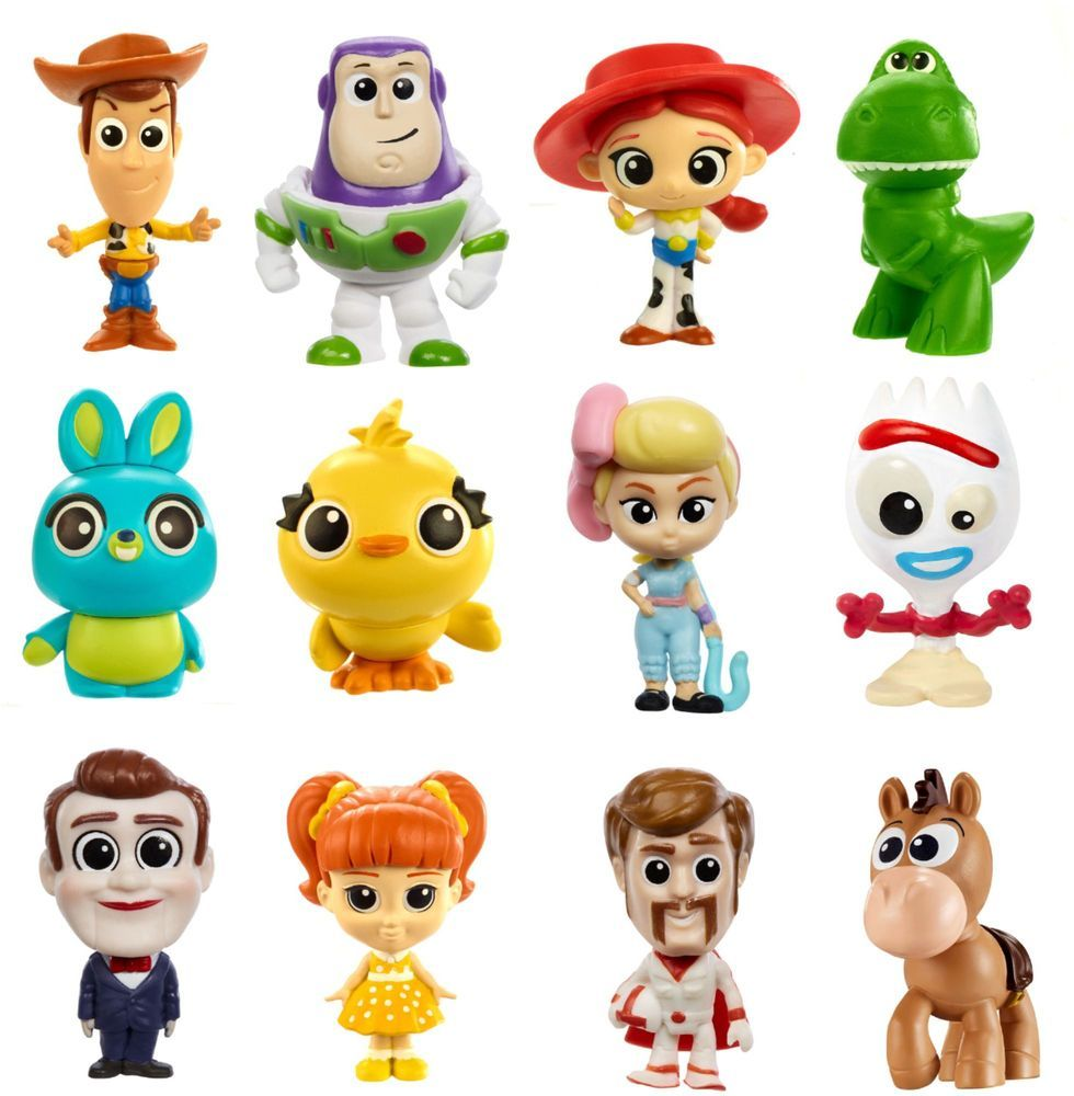 Disney Pixar Toy Story 4 Mini Figure Styles May Vary Gcy17 Con