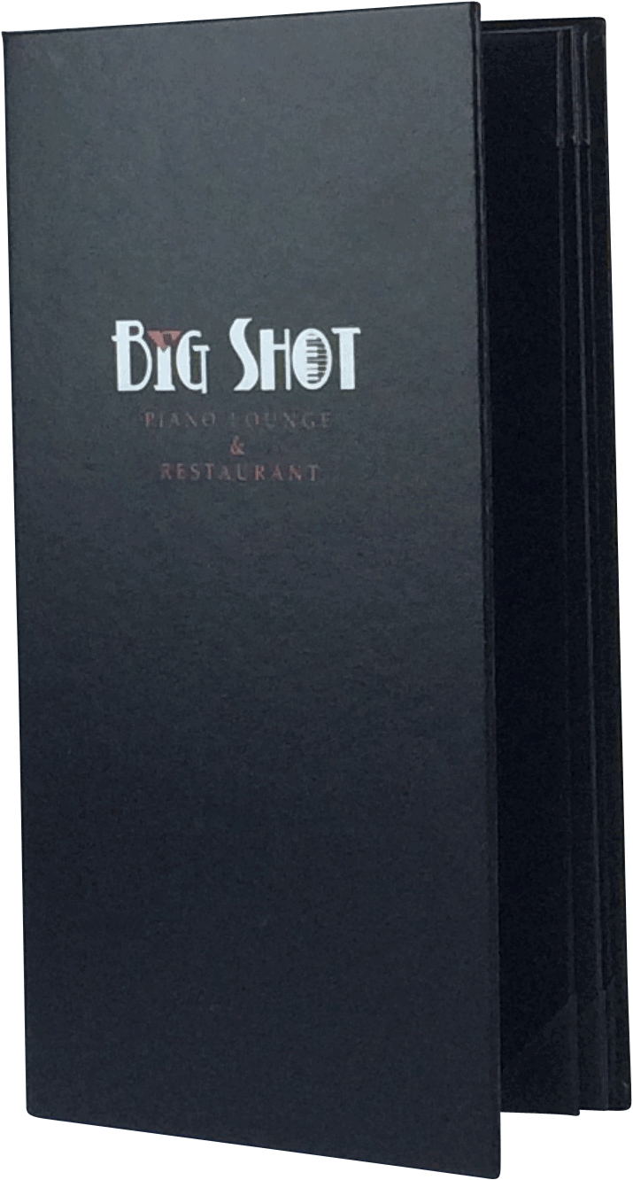 Big Shot 386122 Create An Attractive Arrangement Of Your Menu Items With Menu Covers From Menu Designs We Have A Menu Cover Menu Design Leather Menu Cover