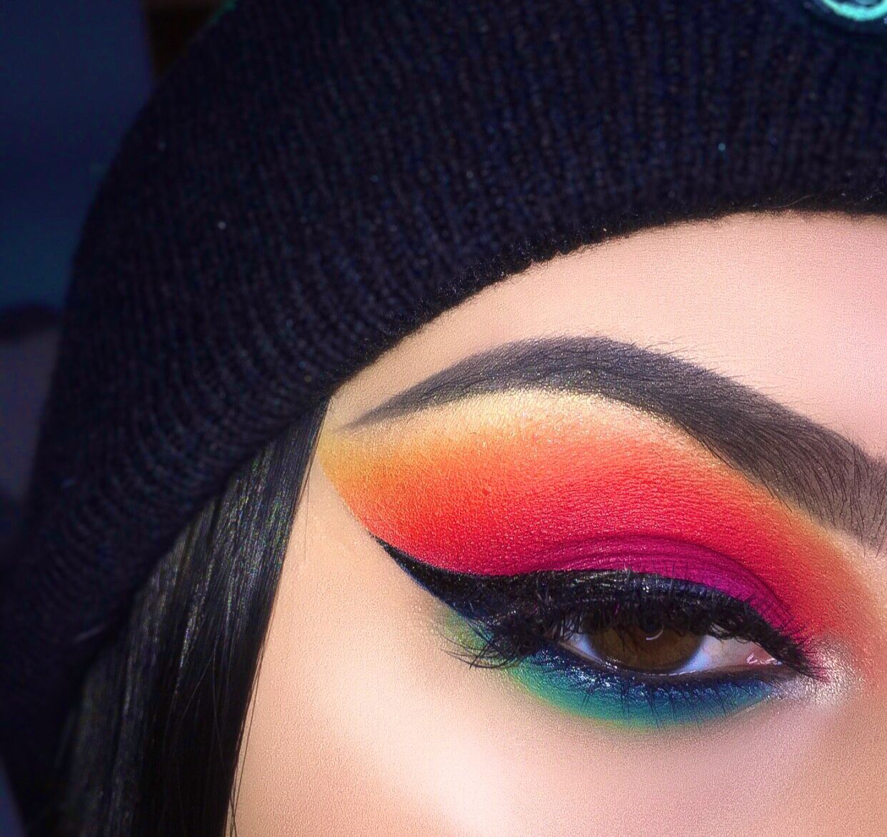 jamescharlespalette rainboweyeshadow
