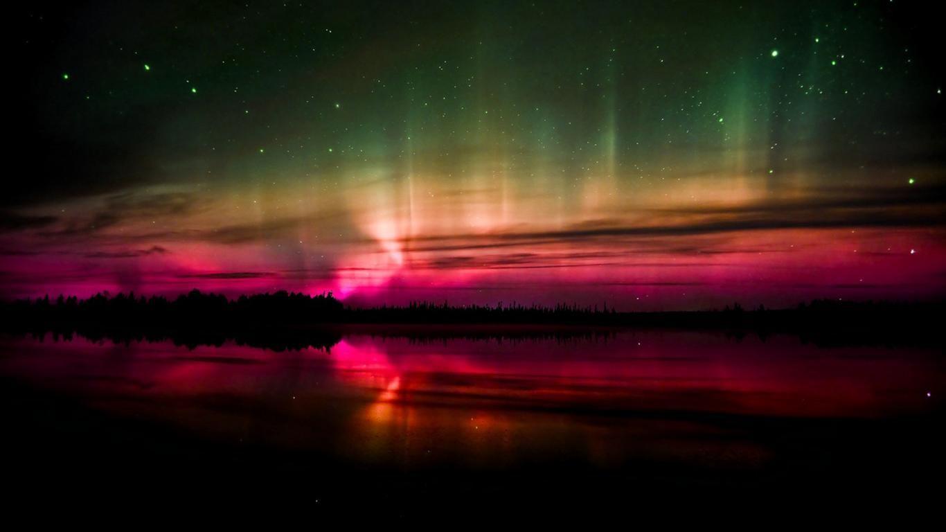 aurora borealis wallpaper 1920x1200, wallpaper, aurora borealis