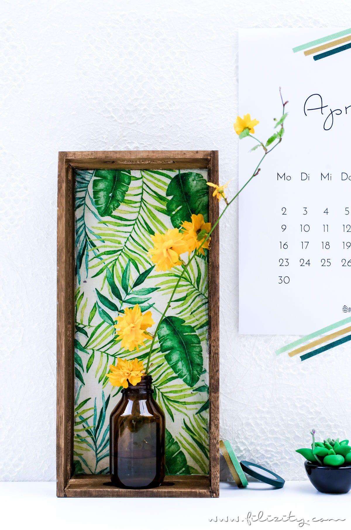 Upcycling Idee Diy Blumenregal Blumendisplay Aus