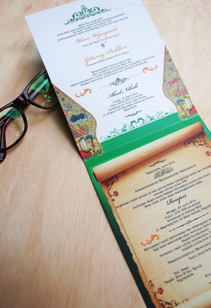 Kartu Undangan Pernikahan Unik Dan Murah Gagner La Date Se Il Vous