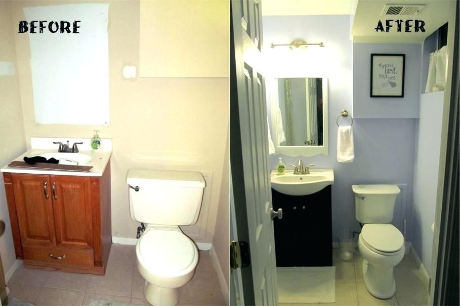 Diy Budget Bathroom Renovation 8 Diy Small Bathroom Remodel Ideas Check Out These Affordable Bathroom Remodel Cheap Bathroom Remodel Simple Bathroom Remodel