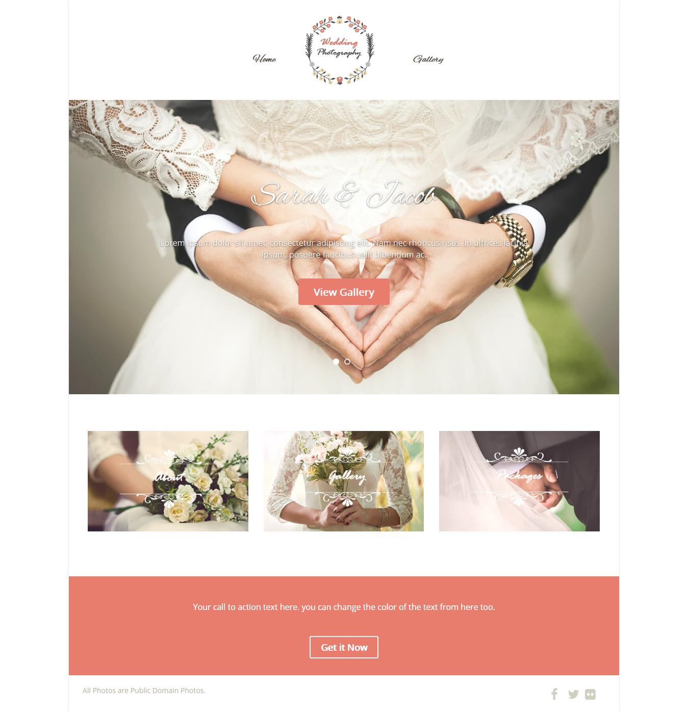 Appropriate For Wedding Websites Theme Optimizer Pro Optimizer