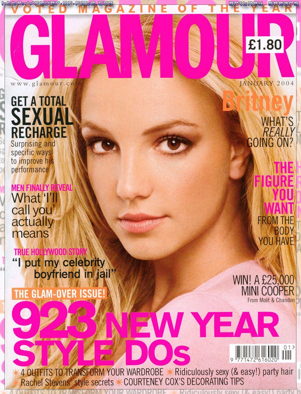 Britney cover magazine naked spear