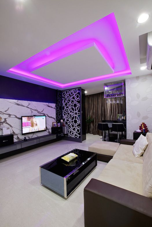 Modern Hdb Decor: HDB 4-Room Resale Modern Design At $40K