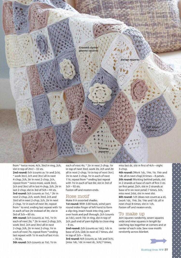 Knitting Crochet from Womans Weekly June 2016 - 轻描淡写 - 轻描淡写
