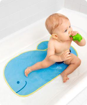 Skip Hop Moby Non Slip Bath Mat Kids Parenting Baby Bathroom Bathtub Mat Kids Bath