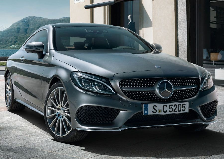 New Mercedes Benz C300 Coupe Amg Line With Images Mercedes