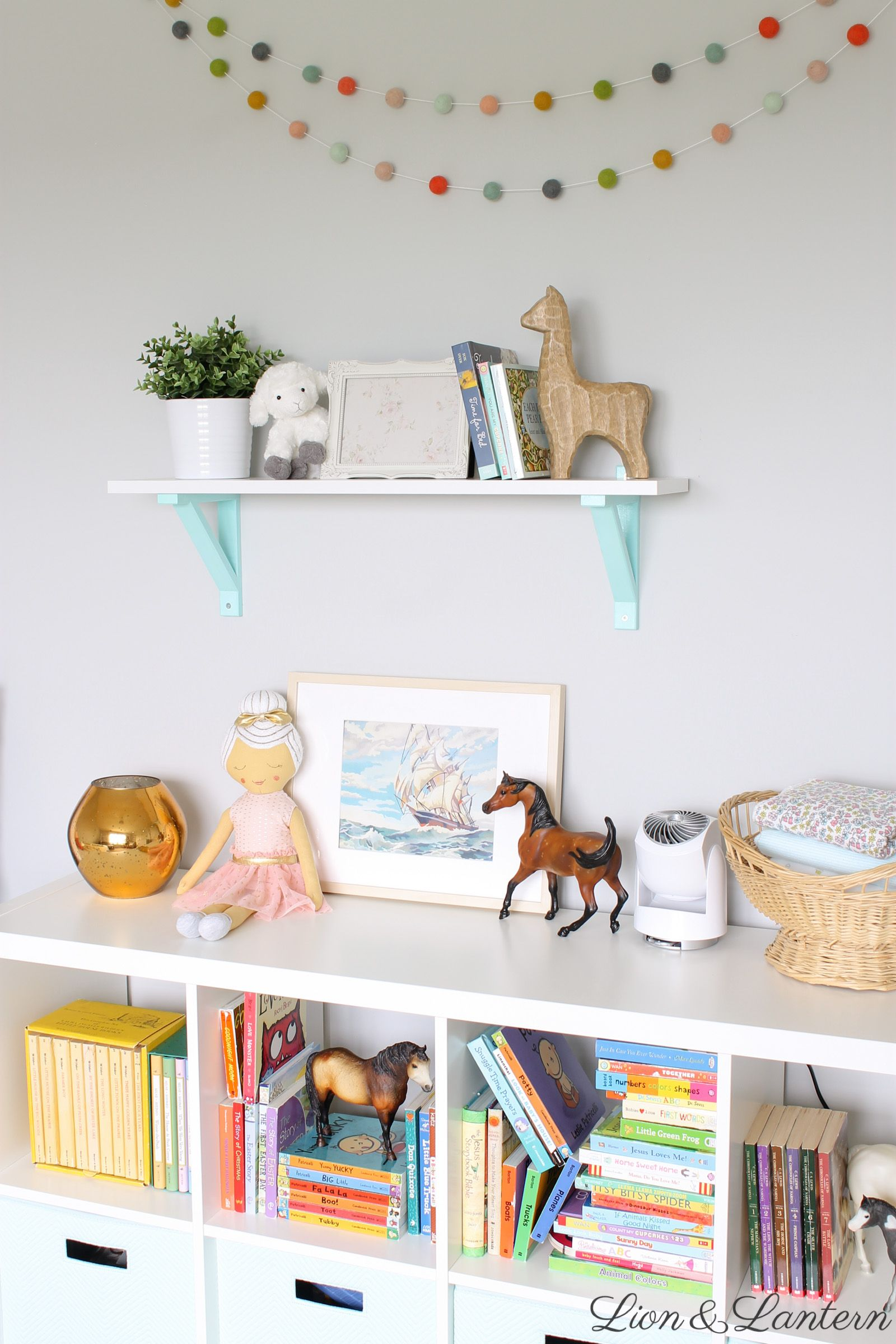 Narnia Inspired Bright & Sweet Nursery Tour At Lionandlanterncom -
