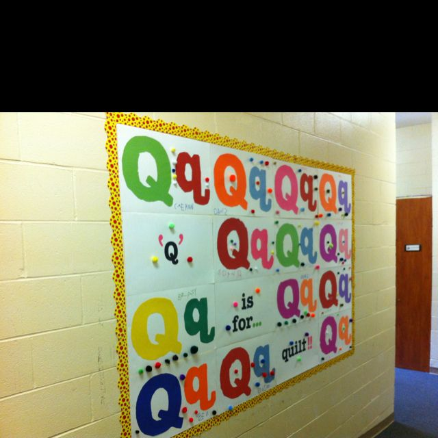 """""""Q"""" is for quilt"""