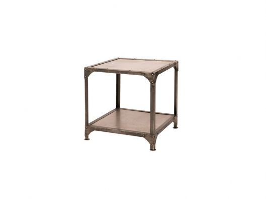 Owner provided - nickel side table (x2)