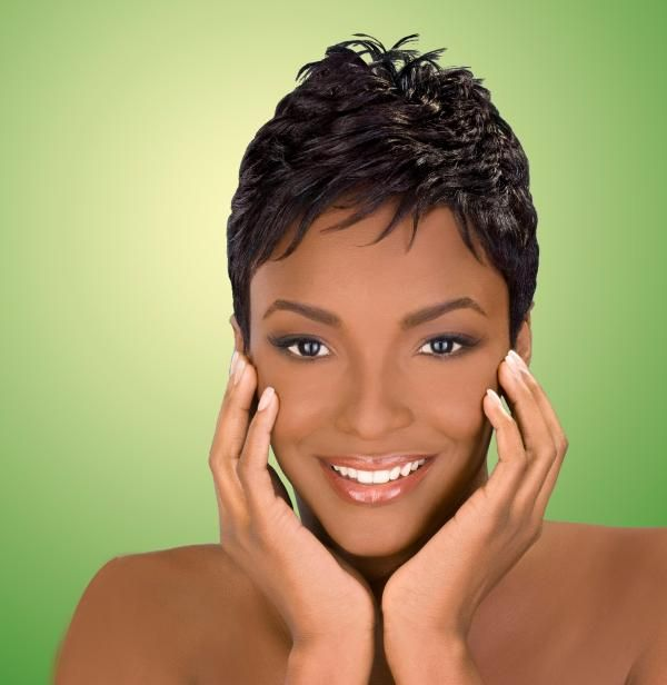 25 Groovy Short Natural Hairstyles For Black Women Slodive Short Hair Styles African American Relaxed Hair Medium Hair Styles