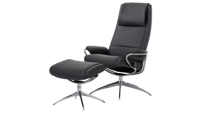 Stressless sessel jazz  Relaxstoel Stressless Paris High Back High Base | Stressless ...
