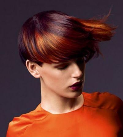 (¯`·.¸HairWeb.de • Trend-Haarfarben 2008: Welche neue Haarfarbe ist der Hit der Saison 2009 frauen blond rot brünett schwarz strähnen