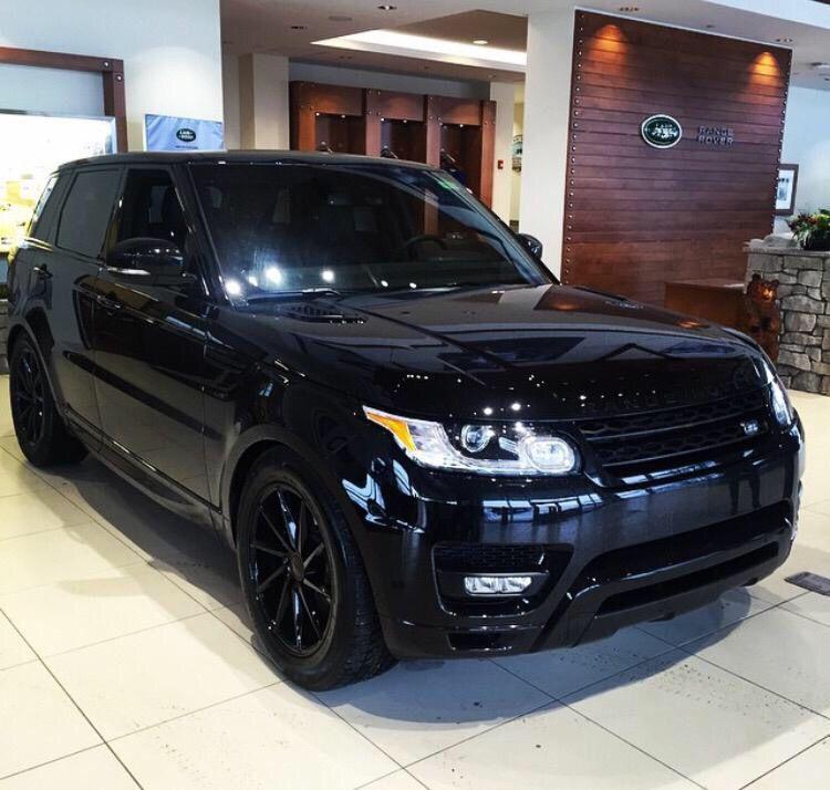 Blacked out Rover ranger, Range rover sport, Land rover