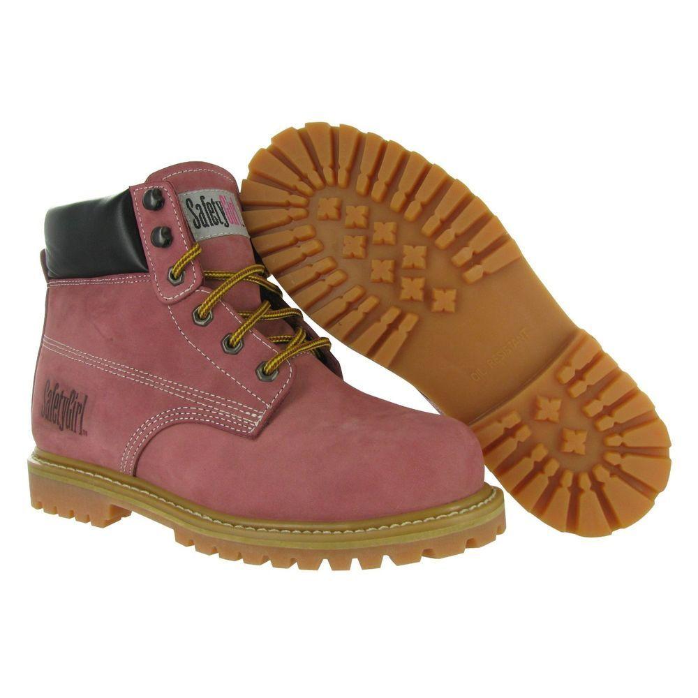 Safety Girl Steel Toe Waterproof Womens Work Boots Light