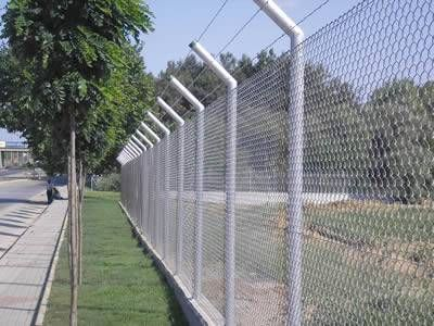 White Fence Wall Spikes Garden Security Intruder Bird Cat Repellent