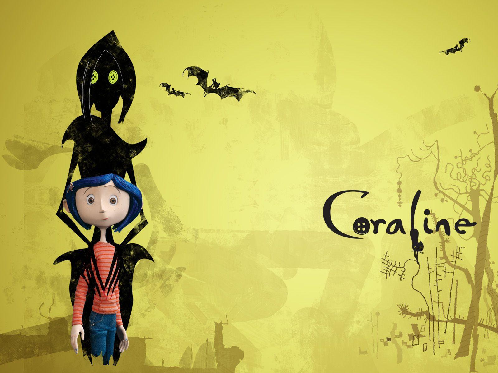 Coraline Wallpaper - Coraline Wallpaper (5835262) - Fanpop | Art ...