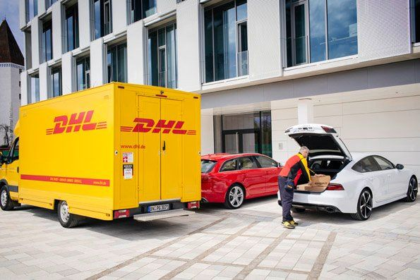 Amazon Audi And Dhl Want To Turn A Car Trunk Into A Delivery Locker Audi Used Audi Audi Cars